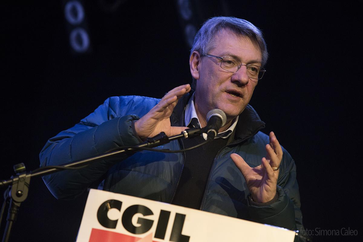 Maurizio Landini, Segretario Generale Cgil
