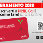 Tesseramento NIdiL Cgil 2020