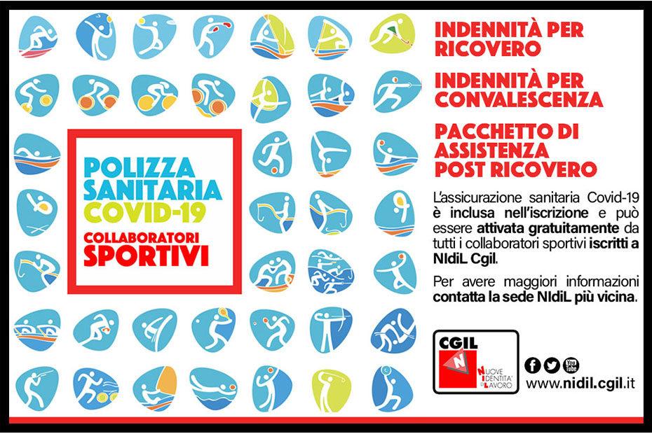Assicurazione Covid-19 collaboratori sportivi