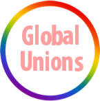 Logo Global Union raimbow