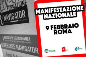 NAVIGATOR. Manifestazione Nazionale 9 febbraio 2021