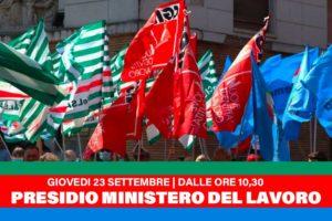 SOMMINISTRAZIONE. Confermata Manifestazione Nazionale del 23 settembre