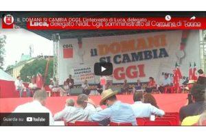 IL DOMANI SI CAMBIA OGGI. L'intervento di Luca, delegato NIdiL Cgil