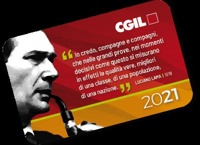 Tessera CGIL 2021_roll